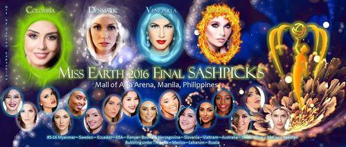 Chung kết Hoa hậu trái đất 2016: Thí sinh Ecuador đăng quang  - Ảnh 6