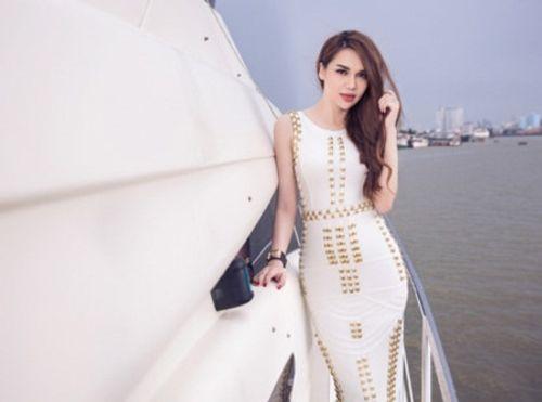 Hoa hậu Diệu Hân kiêu sa trên du thuyền bạc tỷ - Ảnh 1