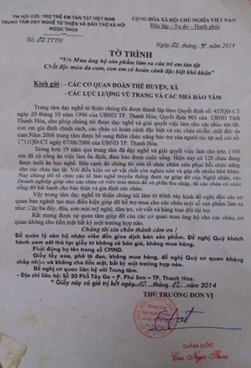 Rút giấy phép Trung tâm Dạy nghề và Bảo trợ xã hội Ngọc Thoa - Ảnh 2