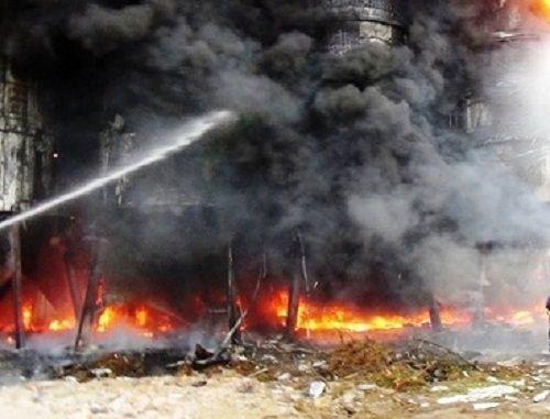 Thanh Hóa: Bà hỏa ghé thăm, 10 bồn chứa bia bị thiêu rụi - Ảnh 1