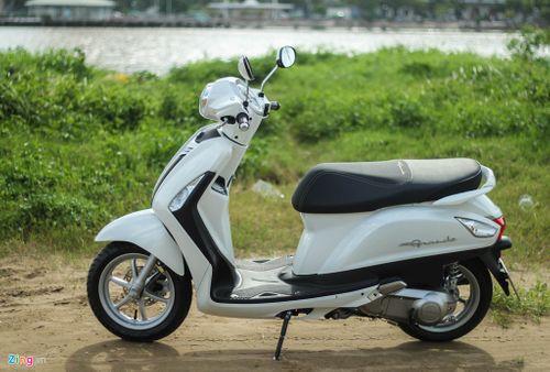 5 mẫu xe ga bán chạy nhất của Yamaha - Ảnh 1