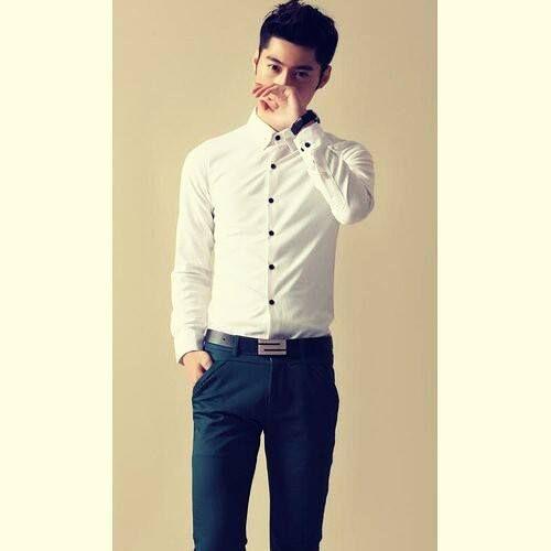 4 cách chọn áo sơ mi nam cho người gầy chuẩn nhất - Ảnh 1
