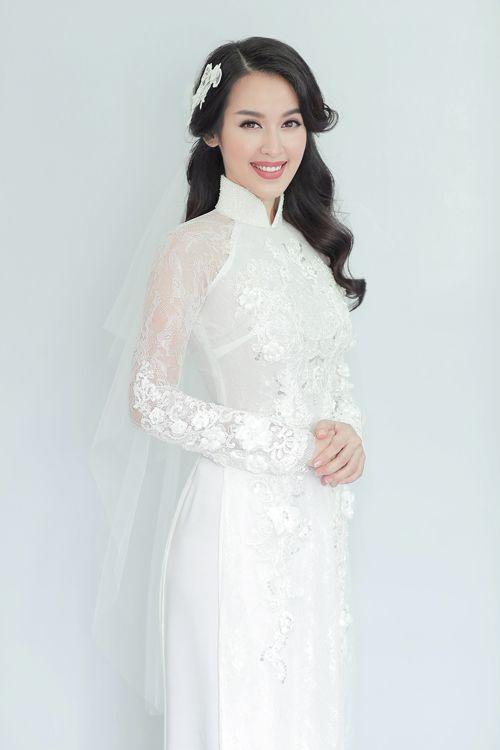 Bật mí cách chọn áo dài ăn hỏi cho cô dâu xinh đẹp - Ảnh 1