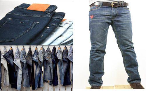 6 kinh nghiệm chọn mua quần jean nam - Ảnh 1