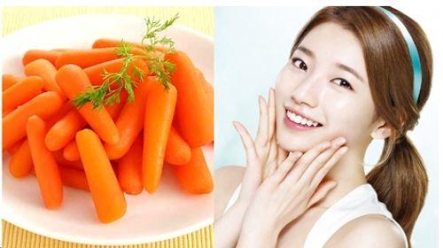 Mách bạn 3 cách làm đẹp da mặt bằng cà rốt hiệu quả tại nhà  - Ảnh 1