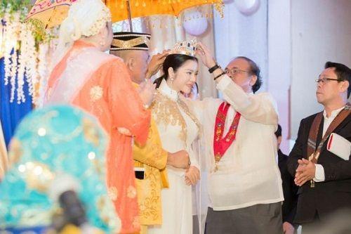 Lý Nhã Kỳ lộng lẫy trong lễ sắc phong công chúa châu Á bộ tộc Mindanao - Ảnh 5