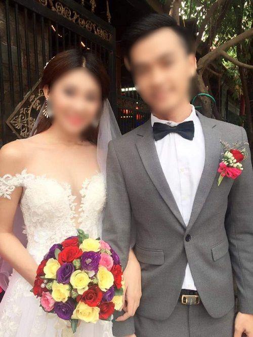 Cặp đôi trong clip livestream dọa tự tử: Tấm thiệp cưới chỉ có tên họ nhà gái - Ảnh 1