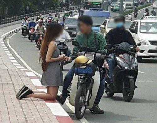 Cái kết của cô gái quỳ giữa đường xin bạn trai nhận đứa con trong bụng - Ảnh 2