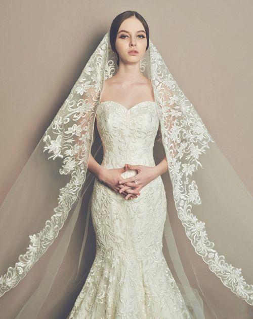 Gợi ý 3 mẹo chọn váy cưới cho cô dâu gầy - Ảnh 1
