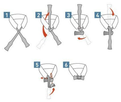 Cách thắt cà vạt nơ đơn giản và dễ thực hiện nhất - Ảnh 2