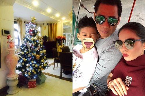 Muôn kiểu chuẩn bị chào đón Giáng Sinh của sao Việt - Ảnh 9