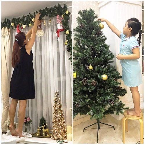 Muôn kiểu chuẩn bị chào đón Giáng Sinh của sao Việt - Ảnh 4