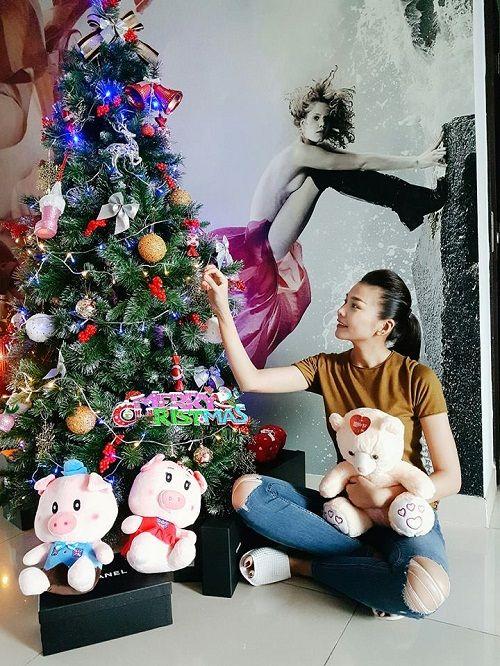 Muôn kiểu chuẩn bị chào đón Giáng Sinh của sao Việt - Ảnh 5