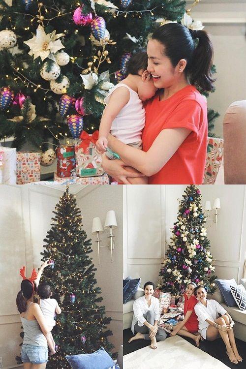 Muôn kiểu chuẩn bị chào đón Giáng Sinh của sao Việt - Ảnh 1