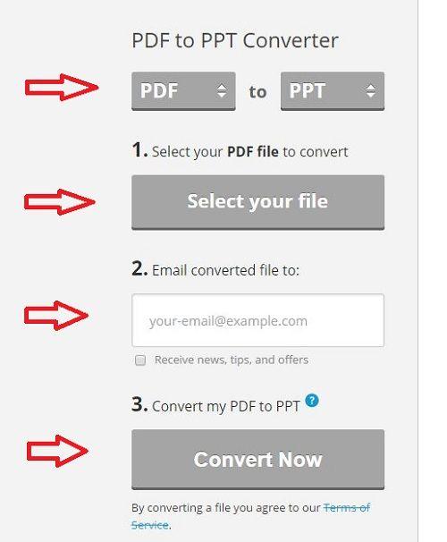 Hướng dẫn cách chuyển file pdf sang powerpoint trực tuyến - Ảnh 1