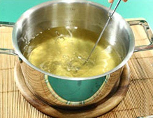 Nấu nước rau câu