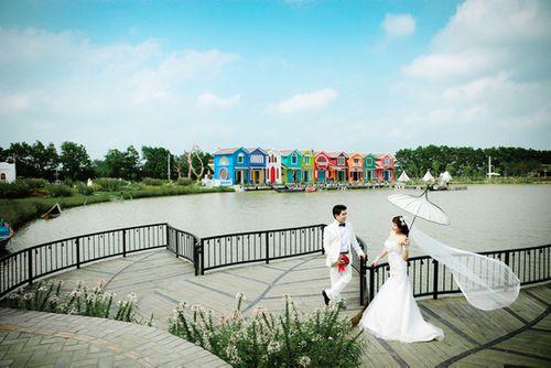 5 địa điểm chụp ảnh lãng mạn ở Hà Nội thu hút giới trẻ nhất - Ảnh 2