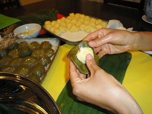 Cách gói bánh ít nhân dừa chuẩn hương vị miền Tây Nam Bộ - Ảnh 2
