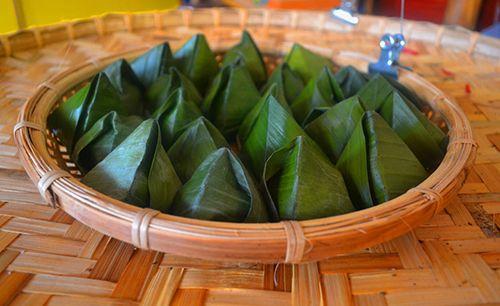 Cách gói bánh ít nhân dừa chuẩn hương vị miền Tây Nam Bộ - Ảnh 3