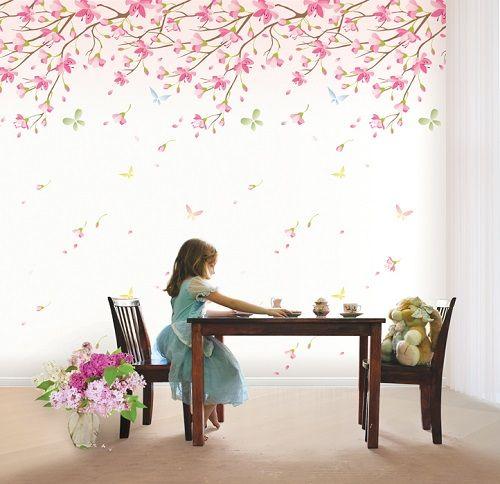 Mẹo chọn giấy dán tường cho phòng khách đẹp và hợp túi tiền - Ảnh 1