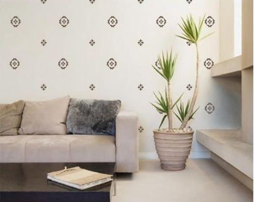 Mẹo chọn giấy dán tường cho phòng khách đẹp và hợp túi tiền - Ảnh 2