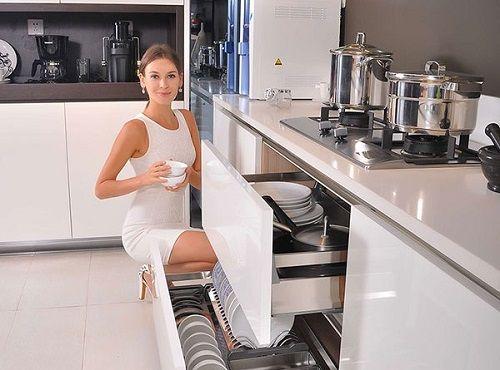 Kinh nghiệm chọn phụ kiện tủ bếp chất lượng, hiệu quả - Ảnh 1
