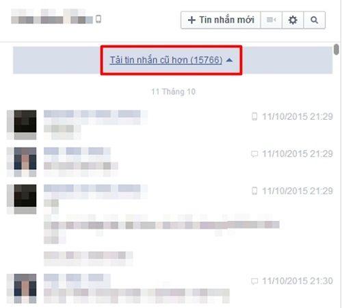 6 bước đơn giản tìm lại tin nhắn đầu tiên trên Facebook - Ảnh 3