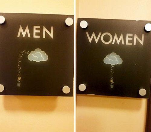 Giật mình trước những biểu tượng WC sáng tạo và hài hước - Ảnh 9