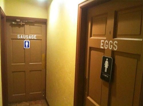 Giật mình trước những biểu tượng WC sáng tạo và hài hước - Ảnh 6