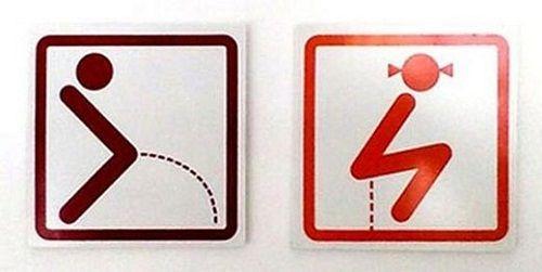 Giật mình trước những biểu tượng WC sáng tạo và hài hước - Ảnh 3