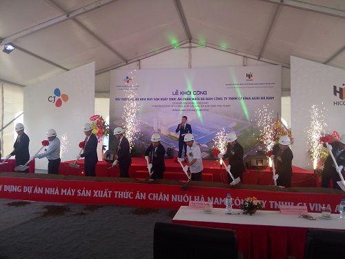 CJ Vina Agri Việt Nam khởi công xây dựng nhà máy tại Khu công nghiệp Đồng Văn II - Ảnh 1