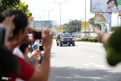 Tổng thống Mỹ Donald Trump đã đến Đà Nẵng - Ảnh 1