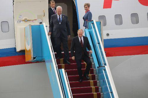 Tổng thống Putin đã đến Đà Nẵng dự APEC - Ảnh 2
