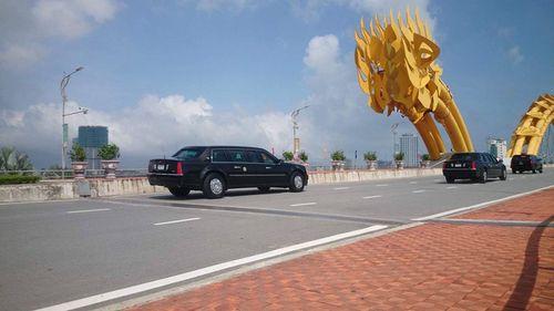 Tổng thống Mỹ Donald Trump đã đến Đà Nẵng - Ảnh 2