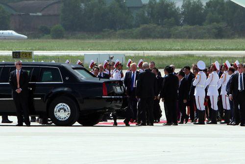 Tổng thống Mỹ Donald Trump đã đến Đà Nẵng - Ảnh 3