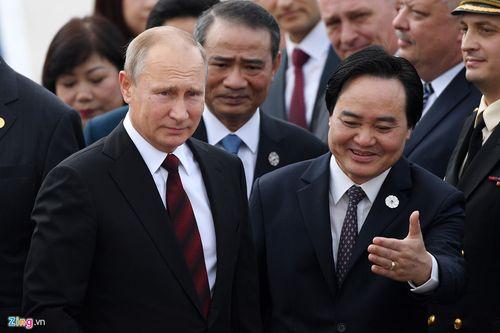 Hình ảnh đầu tiên của Tổng thống Putin tại Đà Nẵng - Ảnh 7