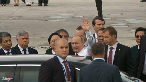 Hình ảnh đầu tiên của Tổng thống Putin tại Đà Nẵng - Ảnh 8