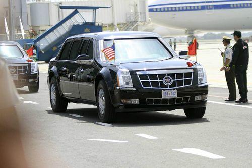 Tổng thống Mỹ Donald Trump đã đến Đà Nẵng - Ảnh 8