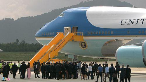 Tổng thống Mỹ Donald Trump đã đến Đà Nẵng - Ảnh 6