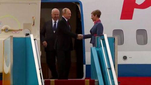 Hình ảnh đầu tiên của Tổng thống Putin tại Đà Nẵng - Ảnh 2