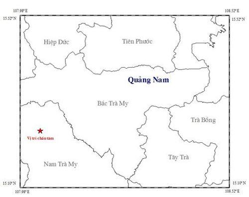 4 ngày, Quảng Nam xảy ra 3 trận động đất - Ảnh 1