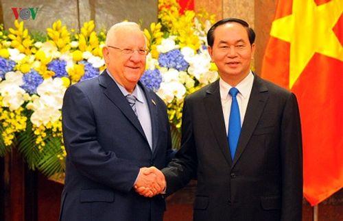 Lễ đón chính thức Tổng thống Israel tại Phủ Chủ tịch - Ảnh 5