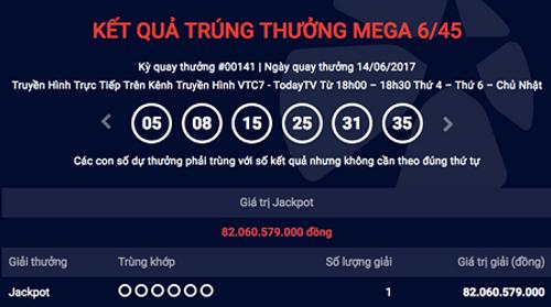 Tờ vé số trúng Jackpot hơn 82 tỷ của Vietlott được bán ở An Giang - Ảnh 1