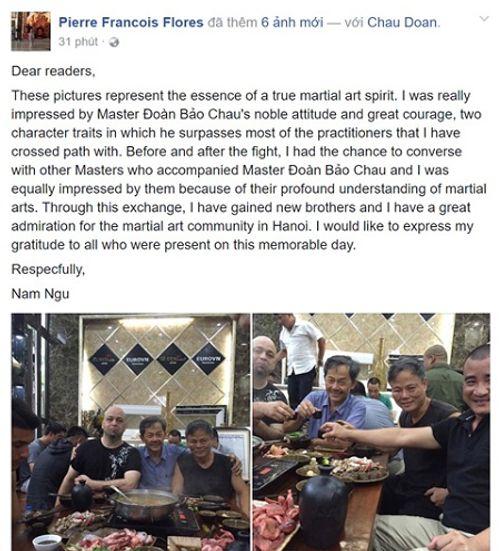 Võ sư Đoàn Bảo Châu tiết lộ lý do bị cao thủ Vịnh Xuân Flores hạ gục - Ảnh 2