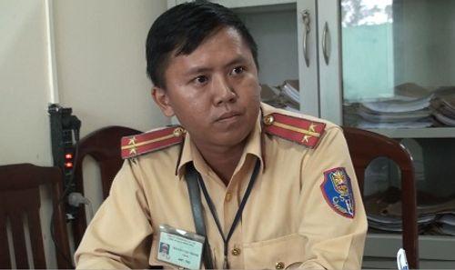 """Vụ Trung tướng về hưu lăng mạ, dọa """"cách chức Giám đốc Công an"""": Trung úy CSGT nói gì? - Ảnh 1"""