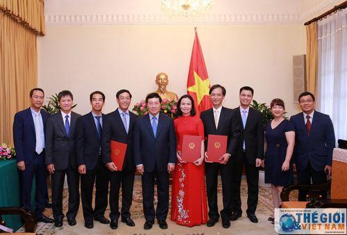 Nhân sự mới Bộ Ngoại giao, Tài chính, Y tế, Thanh tra Chính phủ - Ảnh 1