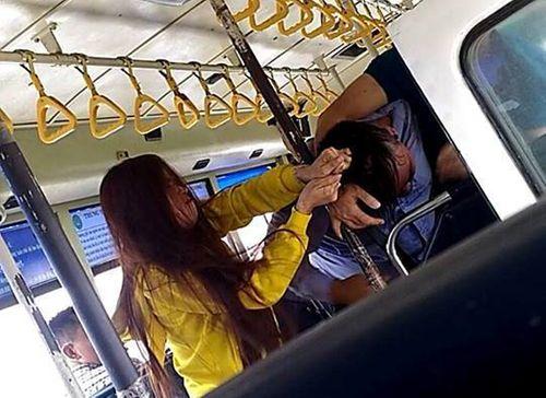 Tình tiết bất ngờ vụ nhân viên xe buýt đánh nhau với đôi nam nữ ở Sài Gòn - Ảnh 1