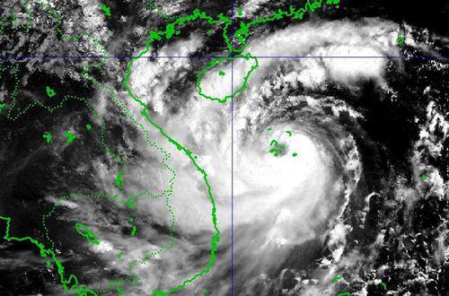 Bão số 10 nguy hiểm gần cấp thảm họa, sơ tán dân trước 9h ngày 15/9 - Ảnh 1