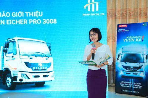 Công ty Huỳnh Thy ra mắt dòng xe Eicher Pro 3008- Tổng trọng tải 8,5 tấn - Ảnh 1