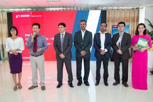 Công ty Huỳnh Thy ra mắt dòng xe Eicher Pro 3008- Tổng trọng tải 8,5 tấn - Ảnh 3